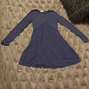 Altar'd State Periwinkle Blue Tunic